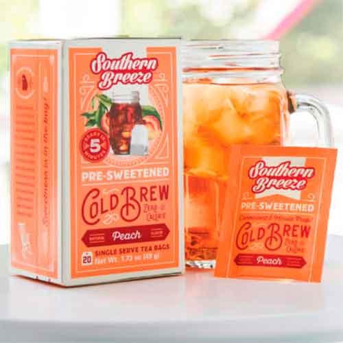 coldtea - Free ZERO Calorie Cold Brew Peach Sweet Tea Sample