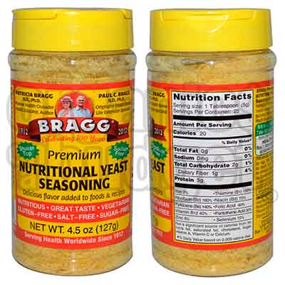 bragg - Free Seasonings and Yeast
