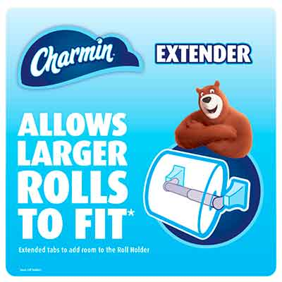 charmin - Free Toilet Paper Roll Extender