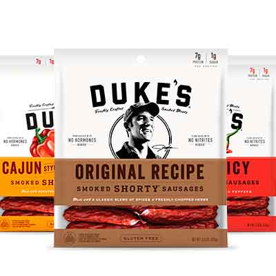 dukes - Free Smoked Shorty Sausages