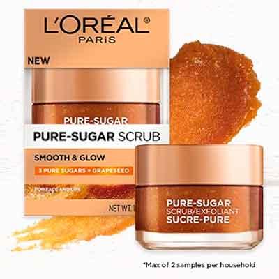 loreal2 - Free Pure-Sugar Grape Seed Scrub