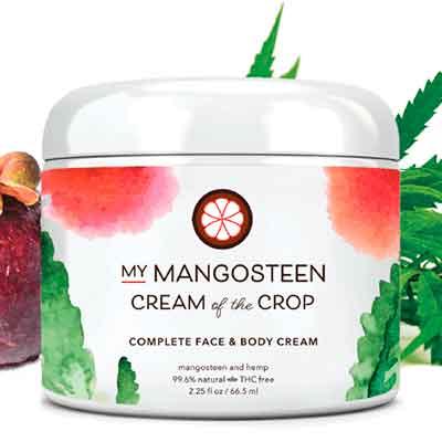mymangosten - Free Face & Body Cream