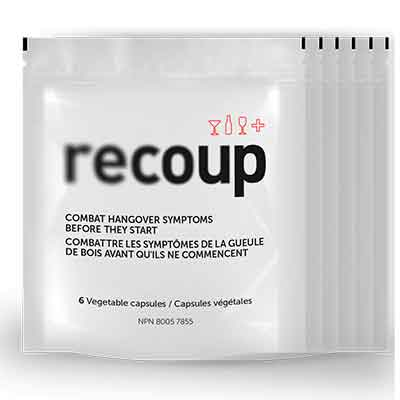 recoup 1 - Free Hangover Remedy From Recoup