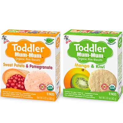toddler 1 - Free Organic Rice Biscuits