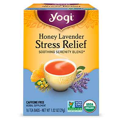 yogi - Free Tea Honey Lavender Stress Relief