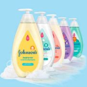 johnsons2 1 180x180 - Free Johnson's Baby Shampoo Sample