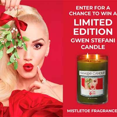 gwenstefani - Free Gwen Stefani Candle Sweepstakes
