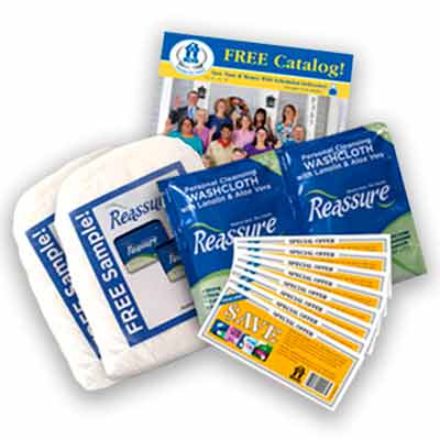 hdis2 - Free Sample Pack with Reassure Travel Washcloths