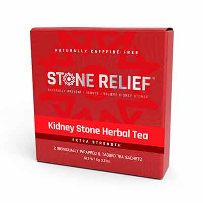 stonerelif - Free Kidney Stone Herbal Tea Sample