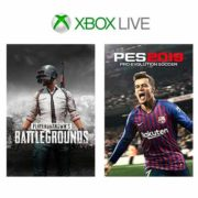 xbox 180x180 - Free Xbox One PUBG and Pro Evolution Soccer 2019