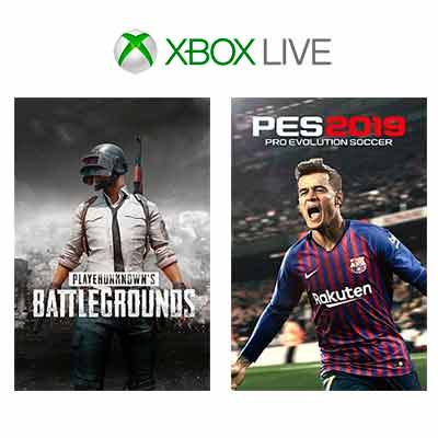xbox - Free Xbox One PUBG and Pro Evolution Soccer 2019
