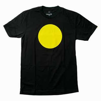 free t shirt with yellow circles - Free T-shirt with yellow circles