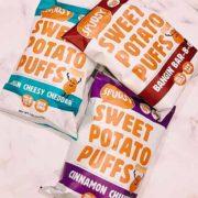 free spudsy sweet potato puffs snacks 180x180 - Free Spudsy Sweet Potato Puffs Snacks