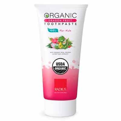 free radius organic gel toothpaste - Free RADIUS Organic Toothpaste