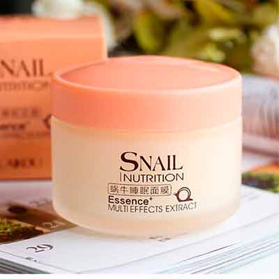 free snail sleeping mask essence moisturizing night cream anti aging wrinkle cream - Free Snail Sleeping Mask Essence Moisturizing Night Cream Anti-Aging Wrinkle Cream