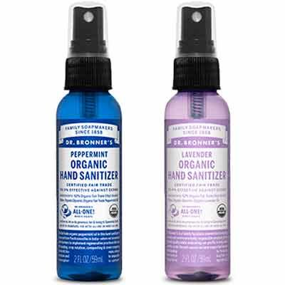 free dr bronners organic hand sanitizer - Free Dr. Bronner's Organic Hand Sanitizer