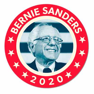 free fdr inspired bernie sanders 2020 sticker - Free FDR-inspired Bernie Sanders 2020 Sticker