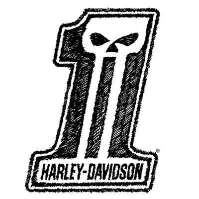 free harley davidson sticker 2 - Free Harley-Davidson Sticker