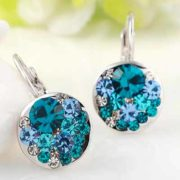 free blue round stone earrings 180x180 - Free Blue Round Stone Earrings