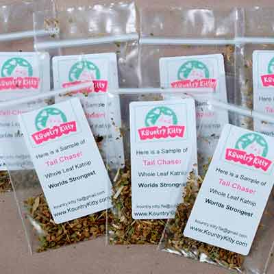 free kountry kitty tail chaser katnip sample - Free Kountry Kitty Tail Chaser Katnip Sample