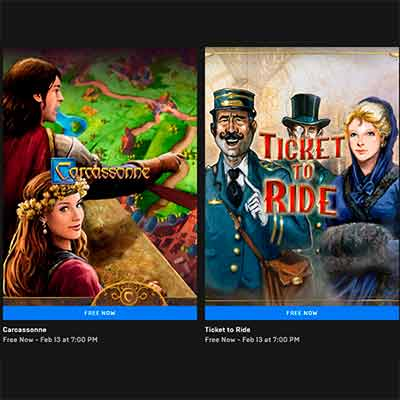 free carcassonne and ticket to ride pc games - Free Carcassonne and Ticket to Ride PC Games