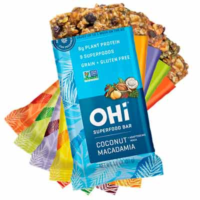 free ohi superfood bar - Free OHi Superfood Bar