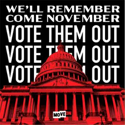 "free vote them out sticker - Free ""Vote Them Out"" sticker"