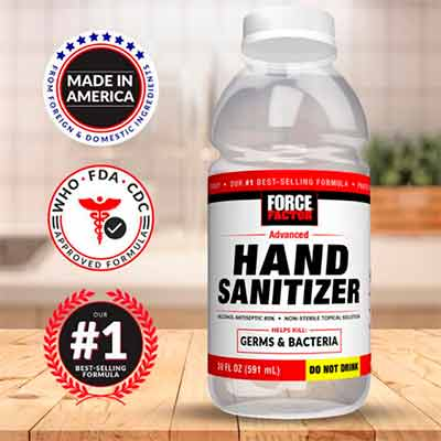 free force factor hand sanitizer - FREE Force Factor Hand Sanitizer