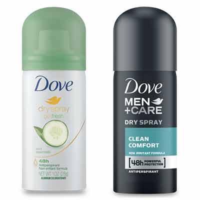 free dove dry spray antiperspirant sample - Free Dove Dry Spray Antiperspirant Sample
