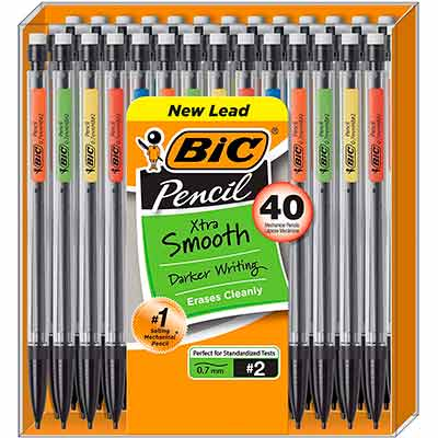 2 freebate bic mechanical pencils - 2 FREEBATE BIC Mechanical Pencils