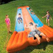 free bestway triple water slide party kit 180x180 - FREE Bestway Triple Water Slide Party Kit