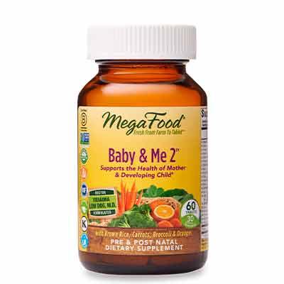 free megafood baby me 2 prenatal vitamins - FREE MegaFood Baby & Me 2 Prenatal Vitamins
