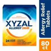 free xyzal allergy 24hr sample 180x180 - FREE Xyzal Allergy 24HR Sample