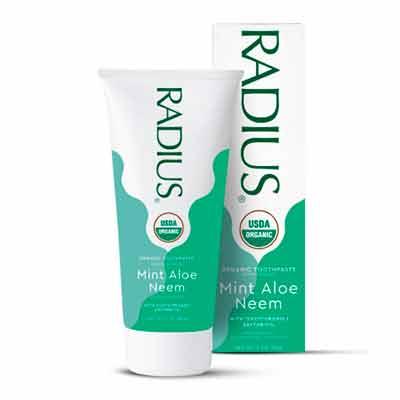 free radius organic toothpaste 2 - FREE RADIUS Organic Toothpaste