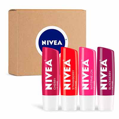 free 4 pack of nivea tinted lip balm - FREE 4-Pack of NIVEA Tinted Lip Balm