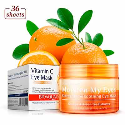 free bioaqua vitamin c eye mask - FREE BioAqua Vitamin C Eye Mask