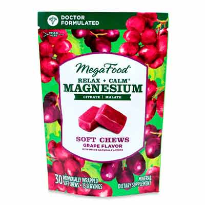 free megafood relax calm magnesium soft chews - FREE MegaFood Relax + Calm Magnesium Soft Chews