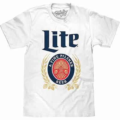 free t shirt miller lite football - Free T-Shirt Miller Lite Football