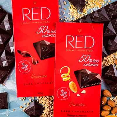 free red chocolate bar 2 - FREE RED Chocolate Bar