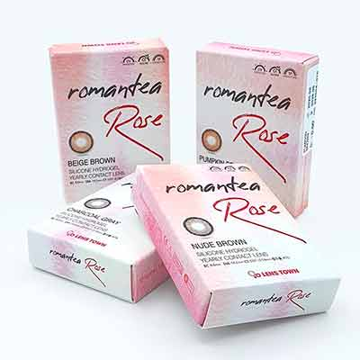 free beautiful lens romantea rose - Free Beautiful lens Romantea Rose