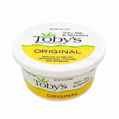 free container of tobys plant based dip and spread - FREE Container of Toby's Plant Based Dip and Spread
