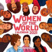 free 2021 calendar of women 180x180 - Free 2021 Calendar of Women