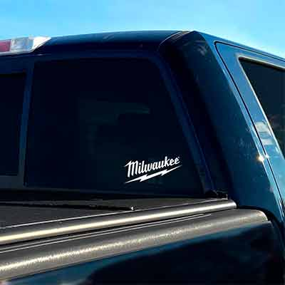 free milwaukee die cut decal - FREE MILWAUKEE DIE-CUT DECAL