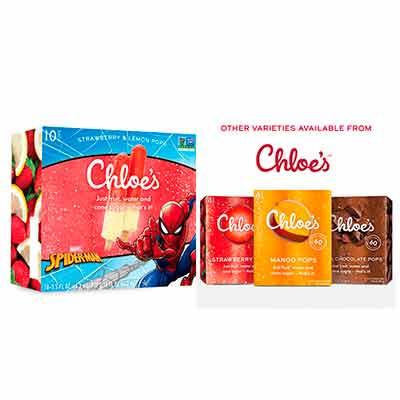 free chloes pops kids marvel pops salted caramel oatmilk pops - FREE Chloe's Pops Kids Marvel Pops & Salted Caramel Oatmilk Pops