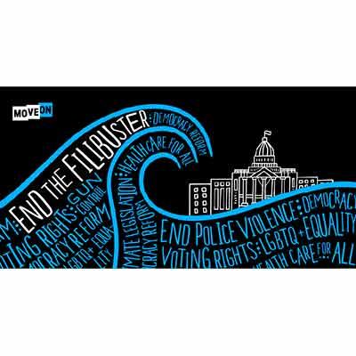 free end the filibuster stiker - Free End the Filibuster Stiker