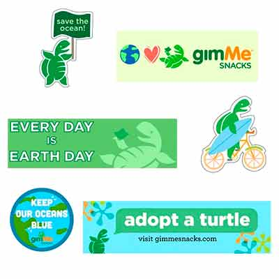 free gimme earth day stickers - FREE gimMe Earth Day Stickers