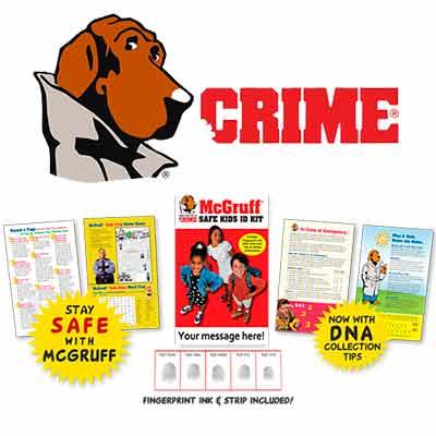 free mcgruff kids safety kits - Free McGruff Kids Safety Kits