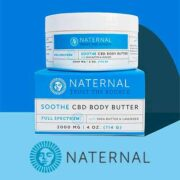 free naternal soothe cbd body butter 180x180 - FREE Naternal Soothe CBD Body Butter
