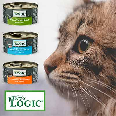 free natures logic cat food cans - FREE Nature's Logic Cat Food Cans