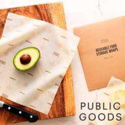 free reusable food storage wraps 180x180 - FREE Reusable Food Storage Wraps